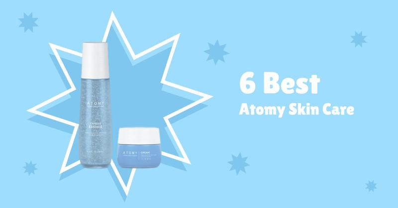 6 Bestselling Atomy Skincare Products
