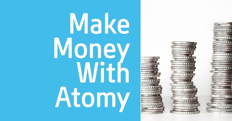 make money with atomy