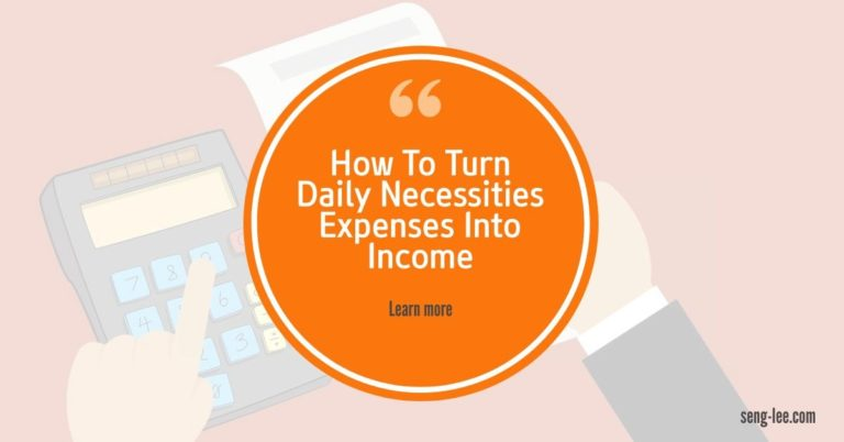 How To Turn Daily Necessities Expenses Into Income With Atomy