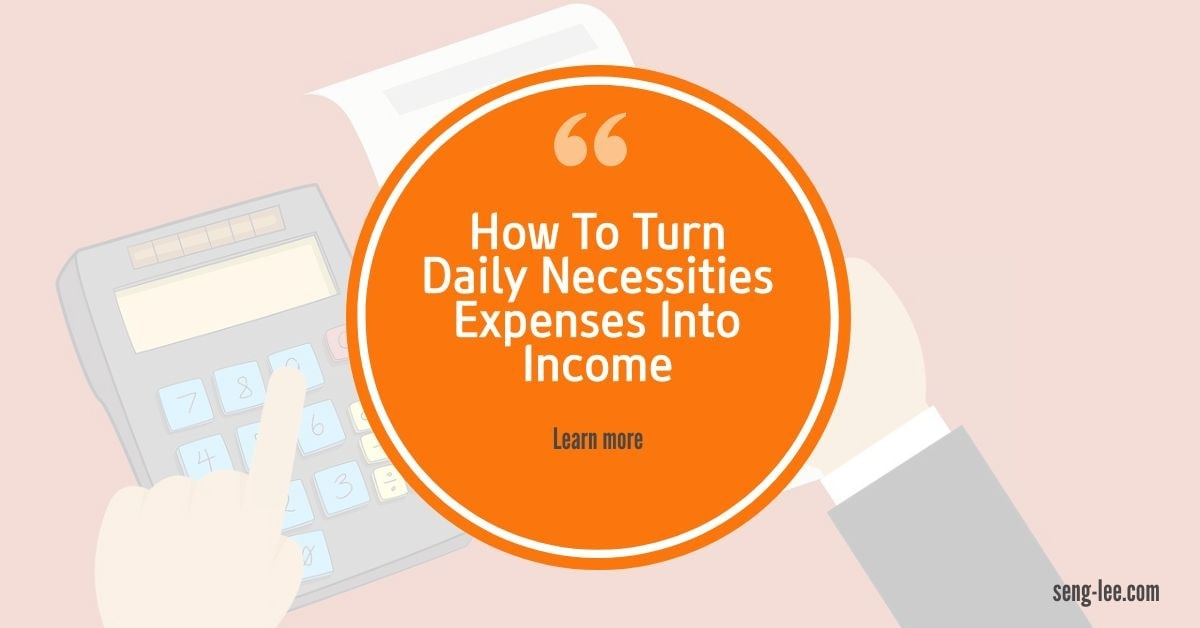 How To Turn Daily Necessity Expenses Into Income With Atomy