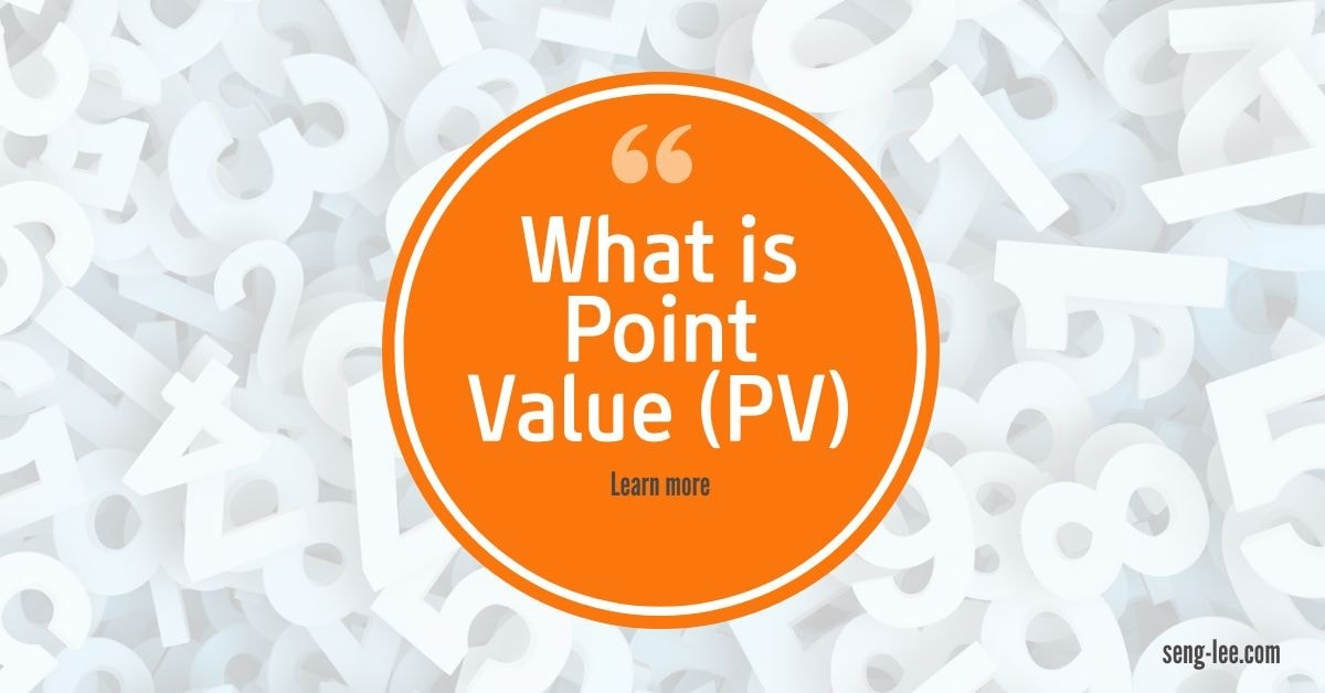 What is Point value PV