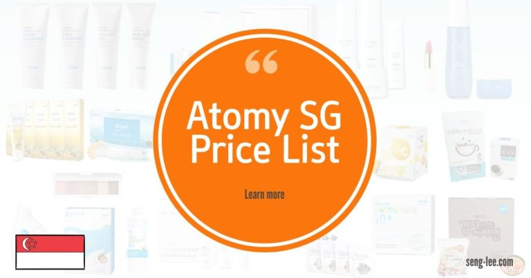 Atomy Singapore Price List